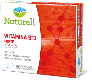 Naturell - Witamina B12 Forte