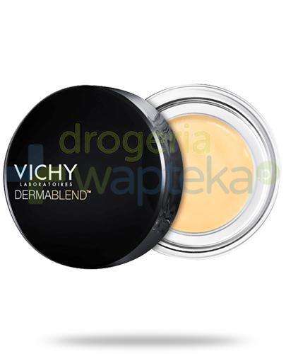 Vichy Dermablend korektor żółty na niebieskie żyłki i cienie pod oczami 4,5 g  whited-out
