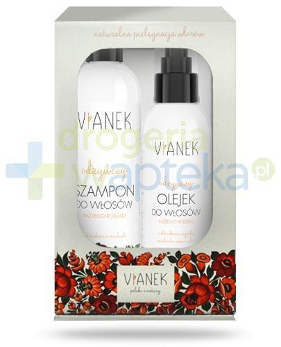 Vianek odżywczy szampon do włosów z ekstraktem z miodunki 300 ml + Vianek odżywczy ole...