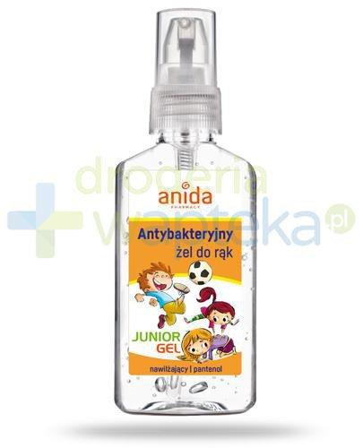 Anida Junior Gel antybakteryjny żel do rąk dla dzieci 50 ml