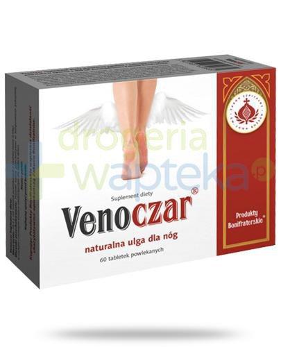 VenoCzar naturalna ulga dla nóg 60 tabletek