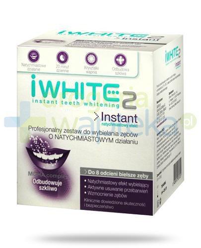 iWhite Instant 2 żelowe nakładki wybielające do zębów 10 sztuk  whited-out