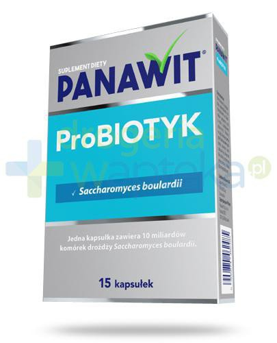 Panawit ProBiotyk 15 kapsułek  whited-out