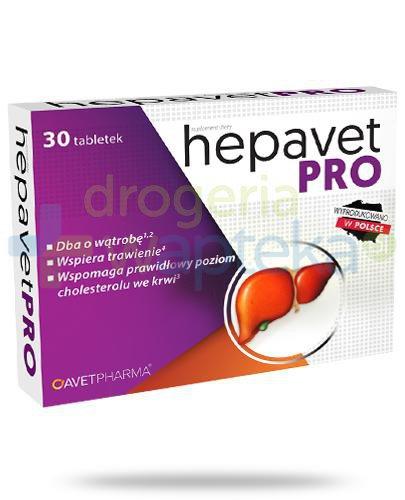 AvetPharma Hepavet Pro 30 tabletek