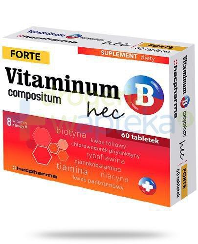 Vitaminum B Compositum Forte Hec 60 tabletek