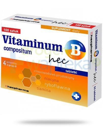 Vitaminum B Compositum Hec 100 tabletek