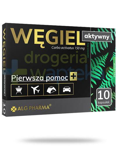 Alg Pharma węgiel aktywny 150mg 10 kapsułek