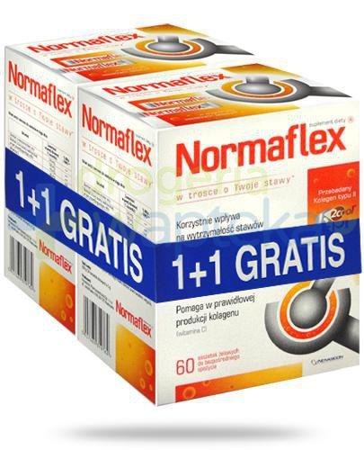 Normaflex 2x 60 saszetek żelowych [DWUPAK]