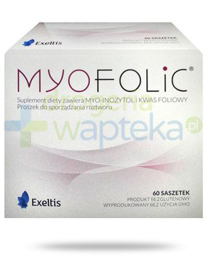 MyoFolic kwas foliowy 60 saszetek  whited-out