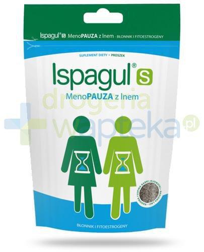 Ispagul S Menopauza z lnem, proszek 200 g  whited-out