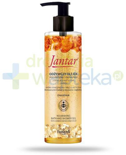 Farmona Jantar DNA Repair odżywczy olejek pod prysznic i do kąpieli z esencją bursztyno...