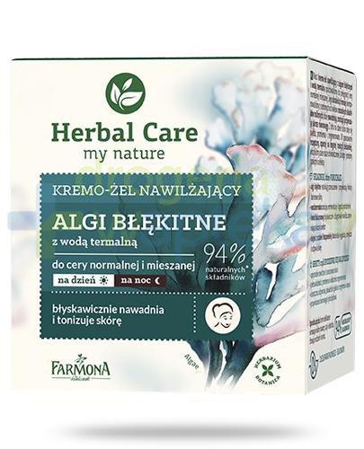 Farmona Herbal Care Algi błękitne z wodą termalną kremo-żel nawilżający 50 ml
