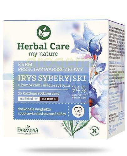 Farmona Herbal Care Irys syberyjski z komórkami macierzystymi krem przeciwzmarszczkow...