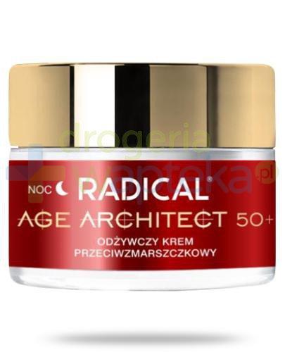 Farmona Radical Age Architect 50+ odżywczy krem przeciwzmarszczkowy na noc 50 ml