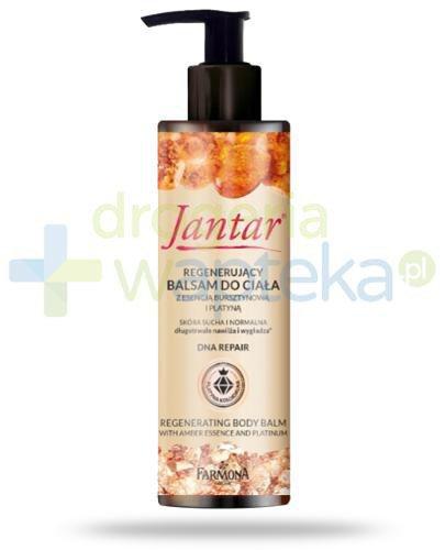 Farmona Jantar DNA Repair regenerujący balsam do ciała z esencją bursztynową i platy...
