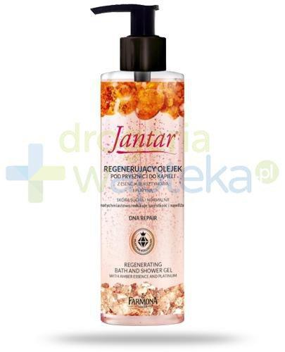 Farmona Jantar DNA Repair regenerujący olejek pod prysznic i do kąpieli z esencją bursz...