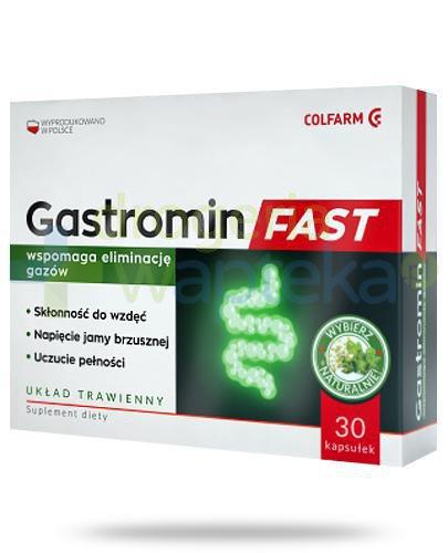 Colfarm Gastromin Fast 30 kapsułek