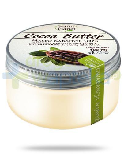 Natur Planet Cocoa Butter 100% masło kakaowe 100 ml