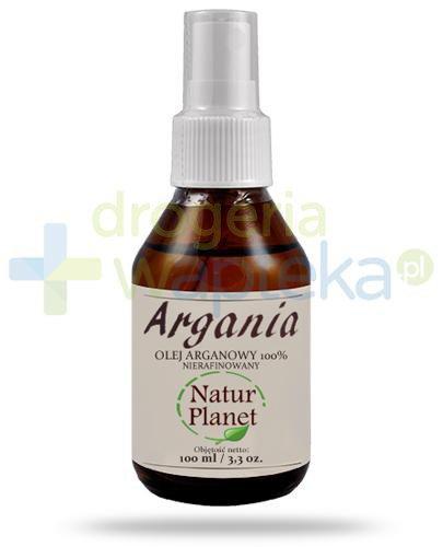 Natur Planet Argania 100% olej arganowy nierafinowany, spray 100 ml