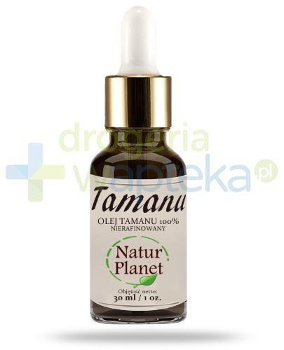 Natur Planet Tamanu 100% olej tamanu nierafinowany, płyn 30 ml