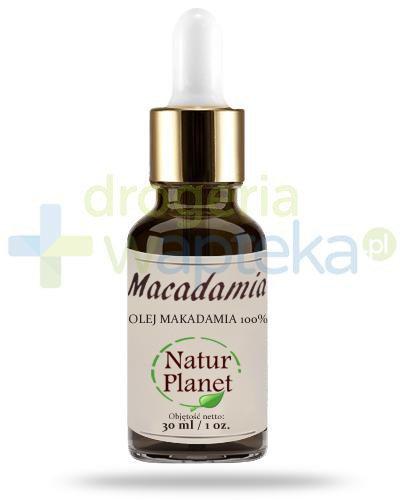 Natur Planet Macadamia 100% olej makadamia, płyn 30 ml