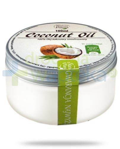 Natur Planet Coconut Oil 100% olej kokosowy nierafinowany 100 ml