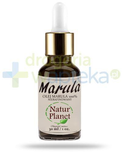 Natur Planet Marula 100% olej marula nierafinowany, płyn 30 ml