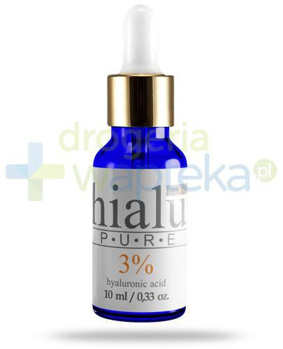 Natur Planet Hialu Pure Forte 3% serum z kwasem hialuronowym, żel 10 ml