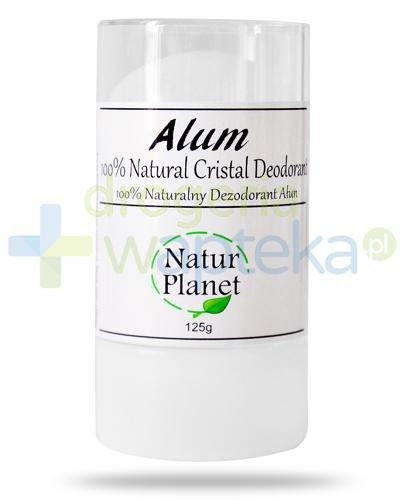 Natur Planet Alum Ałun glinkowo-potasowy 100% naturalny dezodorant w kamieniu 125 g