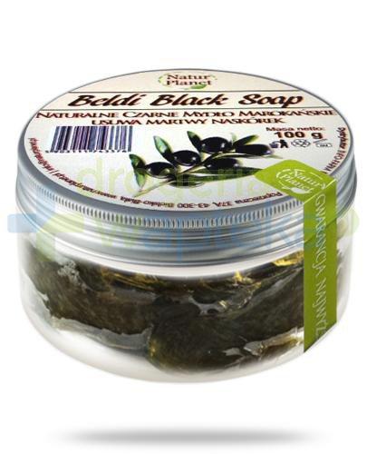 Natur Planet Beldi Black Soap naturalne czarne mydło marokańskie 100 g