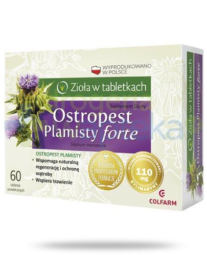 Colfarm Ostropest plamisty Forte 60 tabletek