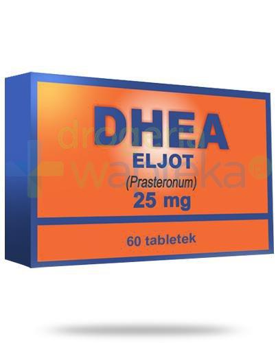 DHEA Eljot, Prasterolum 25mg, tabletki powlekane 60 sztuk