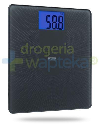 Lanaform PDS 110 AS, waga elektroniczna, kolor czarny 1 sztuka  whited-out