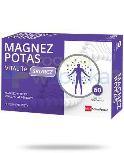 Vitalite Magnez Potas Skurcz 60 tabletek