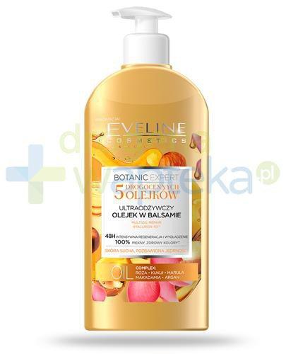 Eveline Botanic Expert 5 olejków ultraodżywczy olejek w balsamie 350 ml