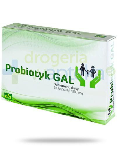 GAL Probiotyk 596mg 24 kapsułki