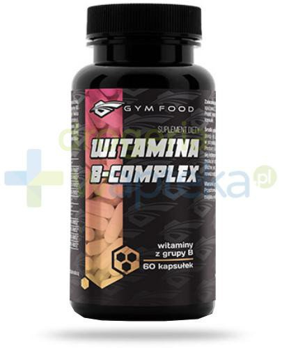 Gym Food Witamina B-complex 60 kapsułek  whited-out