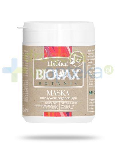 Biovax Botanic maska intensywnie regenerująca do włosów 250 ml