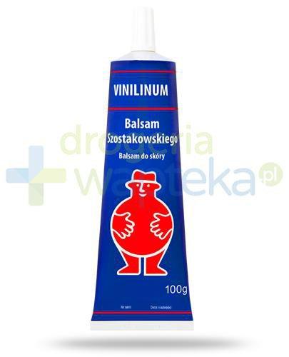 Vinilinum Eljot, Balsam Szostakowskiego, balsam do skóry 100 g