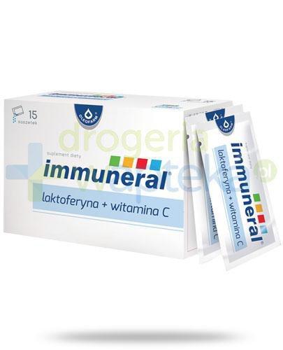 Immuneral laktoferyna + witamina C, proszek 15 saszetek