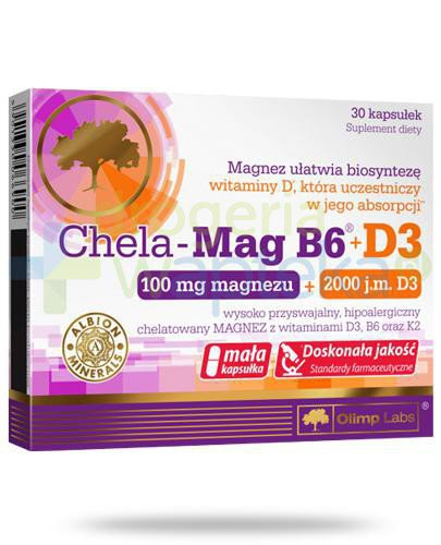 Olimp Chela-Mag B6 100mcg + D3 2000 30 kapsułek