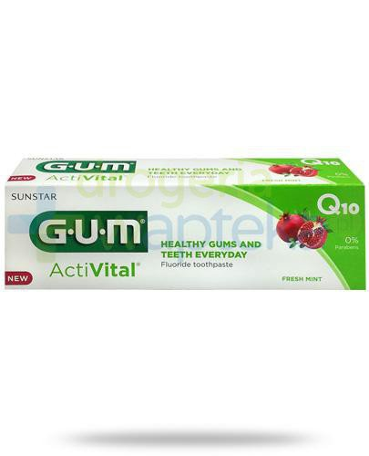 GUM ActiVital Q10 Fresh Mint pasta do zebów 75 ml