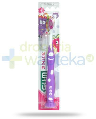 GUM Junior Monster Soft szczoteczka do zębów dla dzieci 7-9+ 1 sztuka