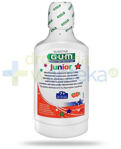 GUM Junior Orange płyn do płukania jamy ustnej dla dzieci 7+ 300 ml