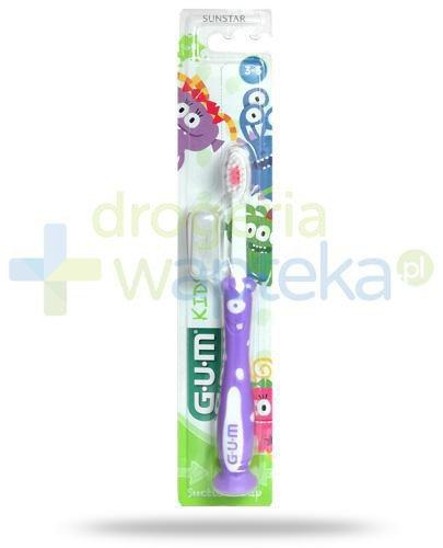 GUM Kids Monster szczoteczka do zębów dla dzieci 3-6+ 1 sztuka