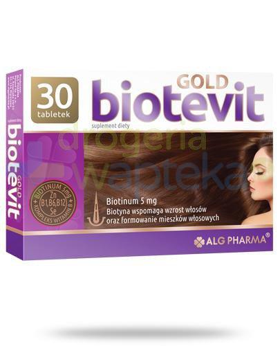 Alg Pharma Biotevit Gold 30 tabletek  whited-out