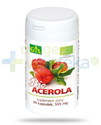 GAL Bio Acerola 595mg 60 kapsułek
