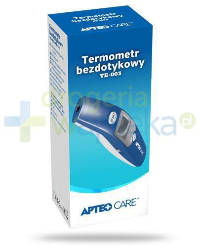 Apteo TE 003 termometr bezdotykowy 1 sztuka  whited-out