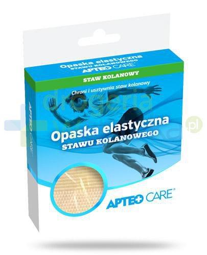 Apteo Care opaska elastyczna stawu kolanowego, rozmiar M, 1 sztuka
