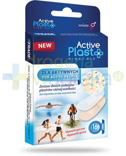Active Plast First Aid plastry dla aktywnych 16 sztuk  whited-out